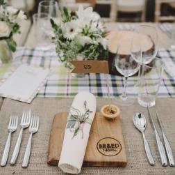 Prime Events, Weddings - Rusitc Wedding setting Aberdeen Scotland